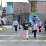 Inaugura alcalde 12 calles pavimentadas