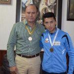 Ricardo Miramontes, un guerrero abasolense en la pista de atletismo