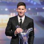 Messi, mejor jugador de Europa 2015