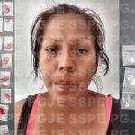 Capturan a mujer con 50 dosis de droga
