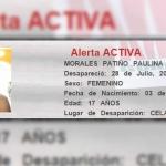 Paulina se encuentra desaparecida; conoce más de Alerta Amber