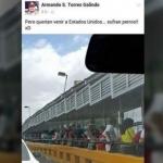 """""""Sufran perros"""": secretario del PRI en Matamoros a mexicanos que cruzan a pie frontera con EU"""