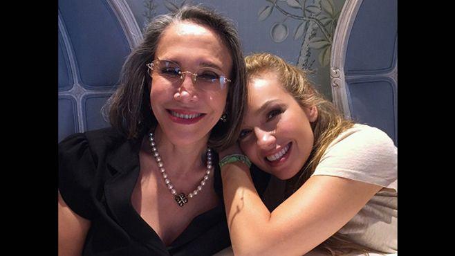 Photo of Thalía es la confidente de Florinda Meza