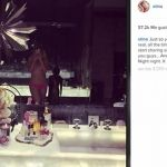 Christina Aguilera posa semidesnuda en redes sociales