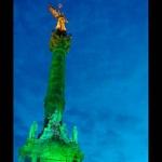 El DF se tiñe de verde contra el cáncer cervicouterino