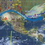 Probabilidad de lluvias ligeras en la región oeste y sur del estado