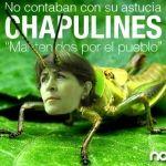 Irma Leticia comienza a brincar como chapulín
