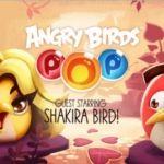 """Shakira se convierte en un """"Angry Birds"""""""