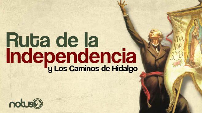 Ruta de la independencia portada