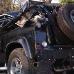 Alejandro Fernández aclara el accidente automovilístico