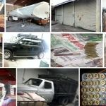 Aseguran inmuebles y vehículos robados en varios municipios