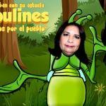 "Betty Manrique ""un chapulín"" muy Verde"