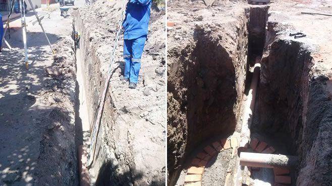 Photo of Rehabilita JAPAMI red de drenaje sanitario en el Fracc. FOVISSSTE
