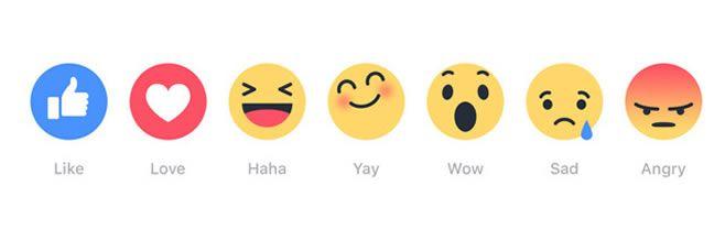 Facebook-botones