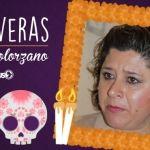Calaverita a Larisa Solórzano