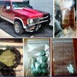 PGJE asegura droga, armas y 7 personas en Guanajuato