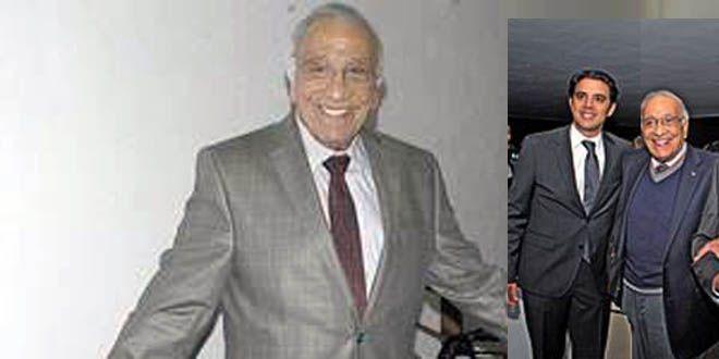 Fernando Barba Amezcua y su nieto Sergio Asecencio Barba