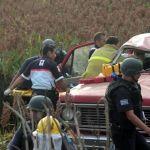 Un campesino muerto y un lesionado en accidente automovilístico
