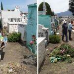 Inician preparativos de limpieza y rehabilitación en el Panteón Municipal