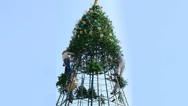 Photo of Instalaran árbol navideño