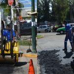Atiende JAPAMI afectación en Av. Reforma