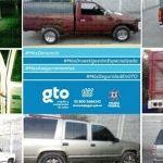 Aseguran vehículos y combustible robado; 5 detenidos