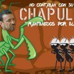 Chapulín, amigo y compadre: Santiago García López