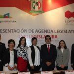 Presenta el GPPRI su agenda legislativa