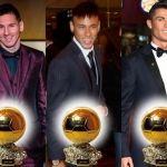 Destapan a los 3 finalistas para el Balón de Oro