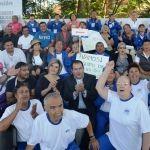 Gran éxito en el 1er Torneo Regional de Cachibol Mixto de Adultos Mayores