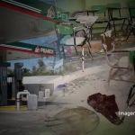 Roban gasolinera y telesecundaria en Irapuato