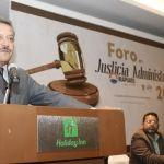 Inauguran Foro en justicia Administrativa