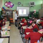 Imparte IMAM pláticas en escuela Cuna de Hidalgo