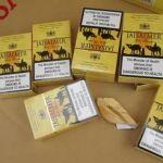 Realizan 29 aseguramientos con 6 mil 332 cigarros