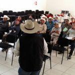 Suman esfuerzos por el campo de Cuerámaro