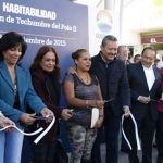 Entrega alcalde techumbre del polo II e inicia restauración del Centro Histórico