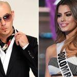 Miss Colombia recibirá el Año Nuevo con Pitbull