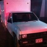 Amagan y despojan a empleado de camioneta; un detenido