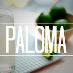 Paloma, palomita de tequila