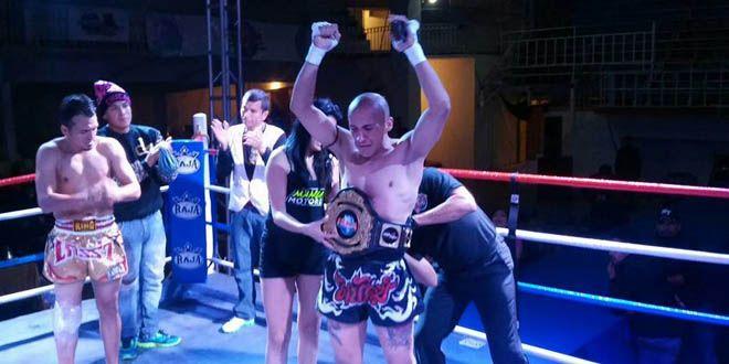 "Photo of Irapuatense ""Frances"" Dumaine, nuevo campeón nacional de Muay Thai"
