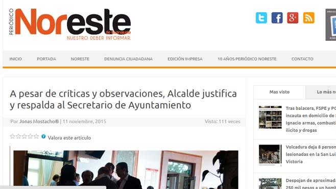 Photo of Periodistas, organizaciones y académicos exigen garantías de seguridad para el Periódico El Noreste en Guanajuato