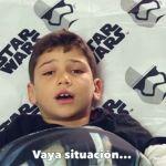 """""""Obi-Juan"""", el niño que odia Star Wars"""