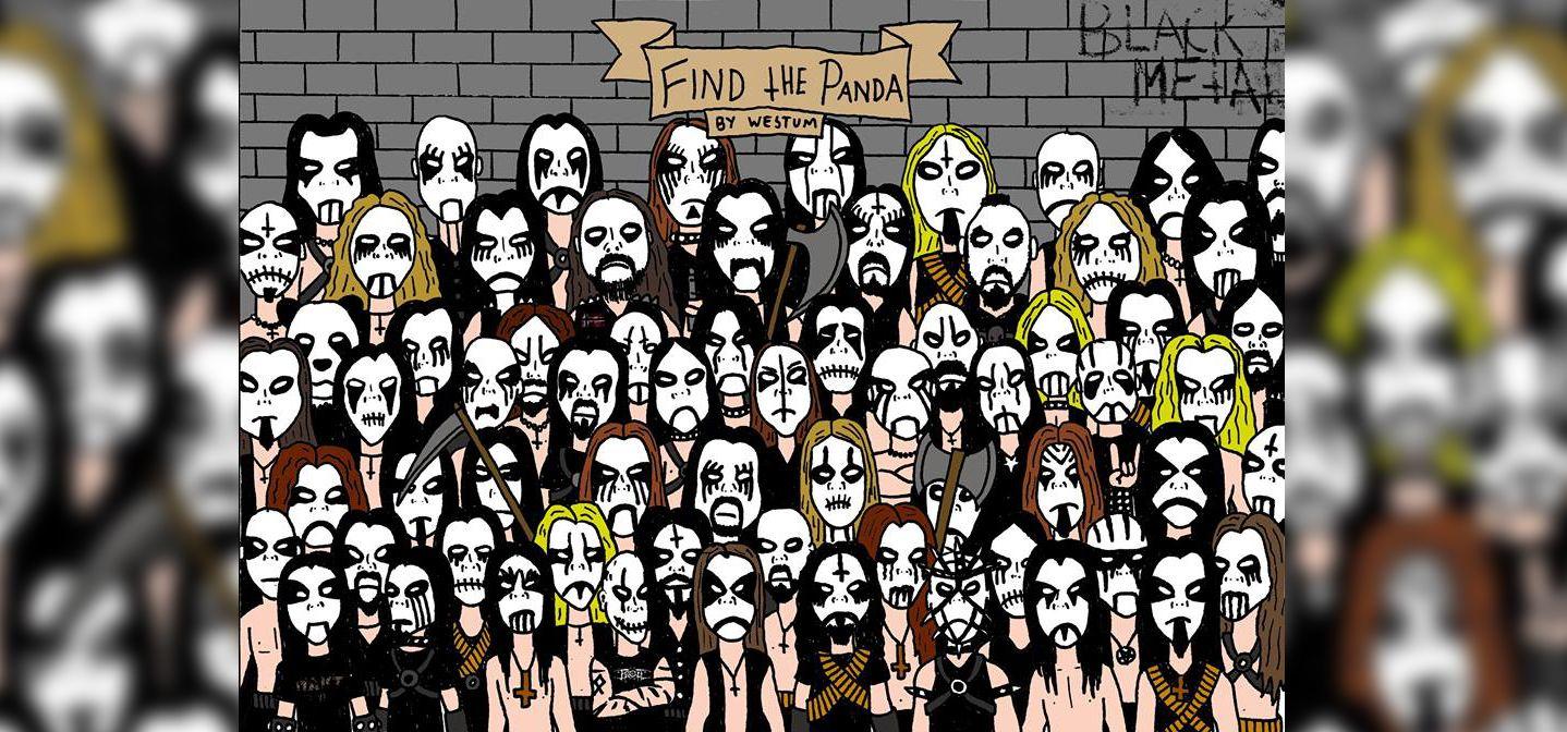 Photo of Nuevo reto; ¿encontrarás al panda entre los heavy metals?