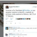 México, listo y entusiasmado para recibir al Papa: Peña Nieto