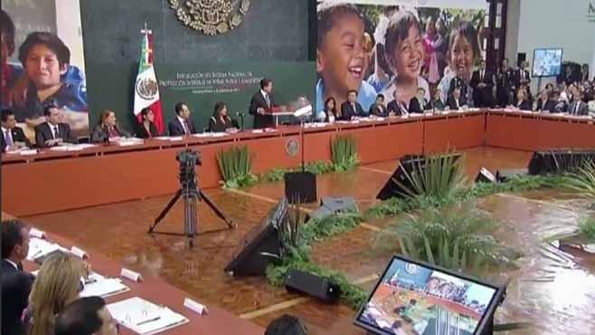 Photo of Peña Nieto reitera su postura en contra de la marihuana