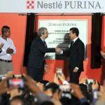 Peña Nieto inaugura planta Nestlé Purina en Silao