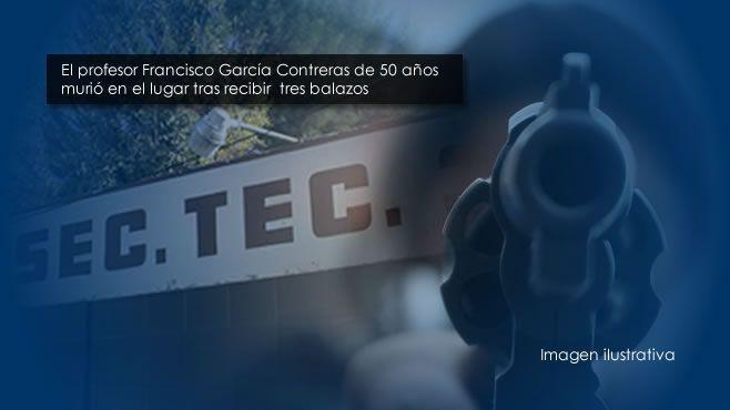 Photo of Descartan robo como móvil de asesinato de profesor en Irapuato