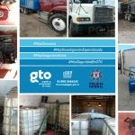Incautan miles de litros de combustible y vehículos con reporte de robo en Irapuato