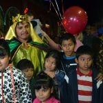 Cientos de niños penjamenses conviven con los reyes magos