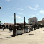 Alrededor de 20 carritos clonados e irregulares en el centro de la ciudad